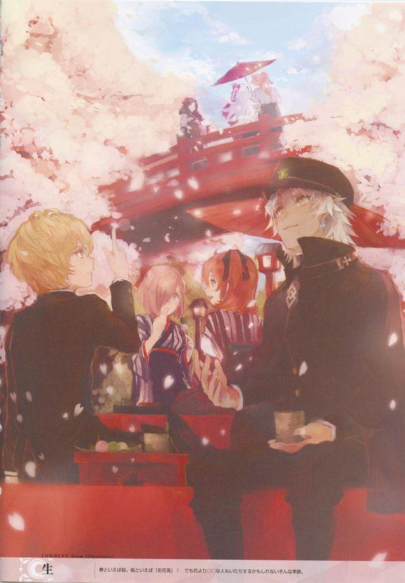 【画集&音乐】Fate/Grand Order 迦勒底ACE扫图&特典广播剧 [英霊伝承ドラマCD伯爵生前篇]-玩吧ACG