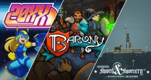 玩吧acg今日喜加一整理|Epic喜加三,《20XX》《Barony》《超级兄弟:剑与巫术》免费领插图