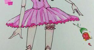 二次元美图绘画插图之这是茉莉公主哒(;´ρ`)插图