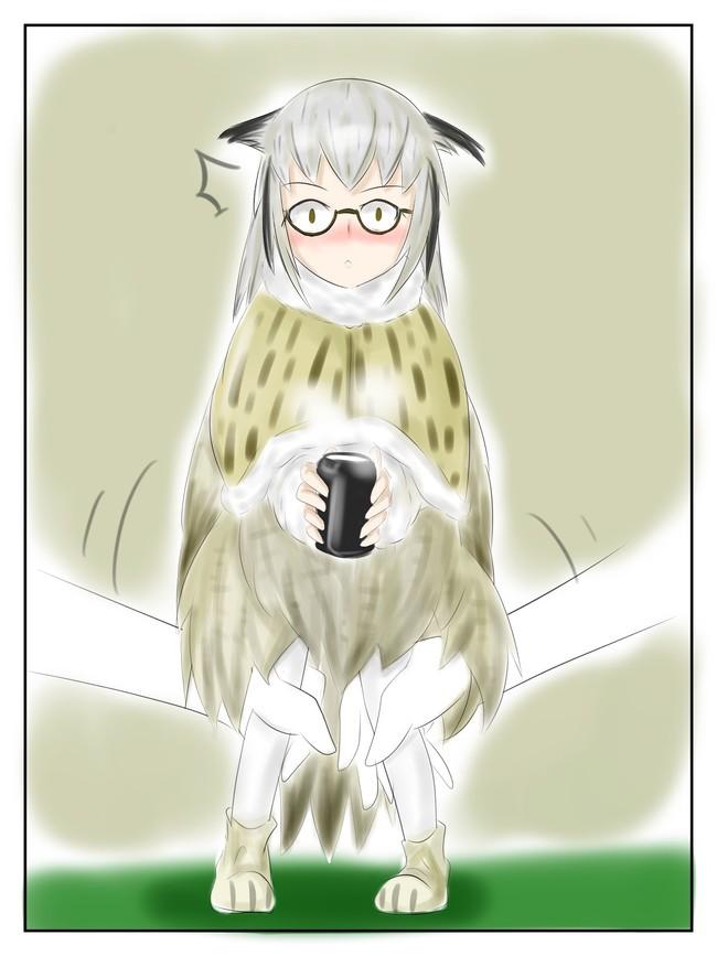 二次元美图绘画插图之所以猫头鹰的腿到底有多长呢!插图(3)